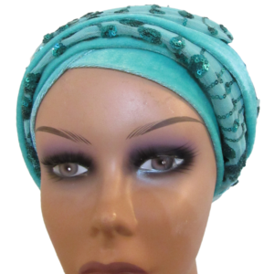 Turban mint green