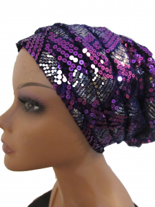 Sequined turban