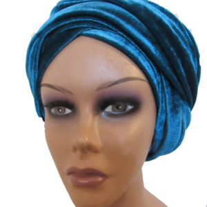 Plain coloured turban